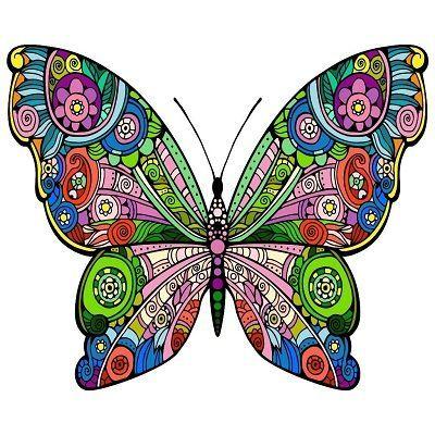 Mandalas Coloreadas Las Imagenes A Color Mas Bonitas Mandalas Para Colorear Animales Mandalas De Colores Arte De Mariposa