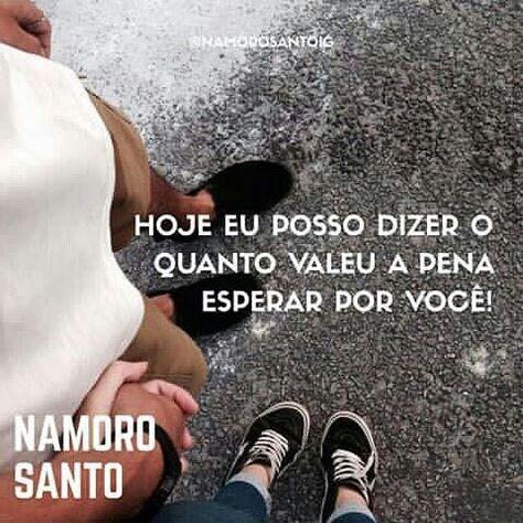 """Frases de Amor """"Namoro Santo"""""""