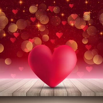 Heart On Wooden Table On Bokeh Lights Background 1501 Background Valentine Valentines Day Png And Vector With Transparent Background For Free Download Bokeh Lights Lights Background Wallpaper Iphone Neon