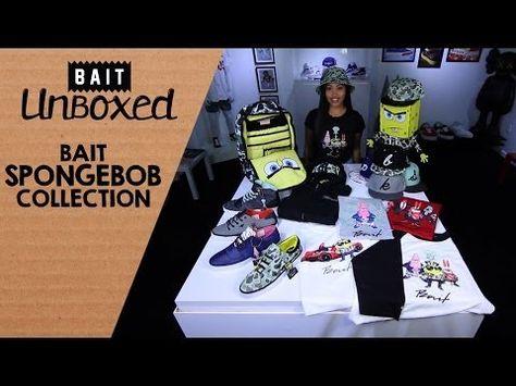 6c523f5d52d9 BAIT Unboxed  BAIT x SpongeBob Collection