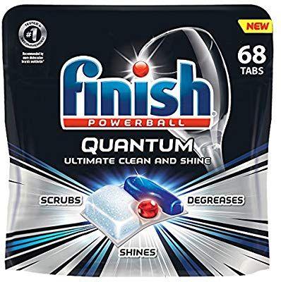 Amazon Com Finish Quantum 68ct Dishwasher Detergent Powerball Ultimate Clean Shine Dishwashing With Images Dishwasher Detergent Dishwasher Detergent Tablets