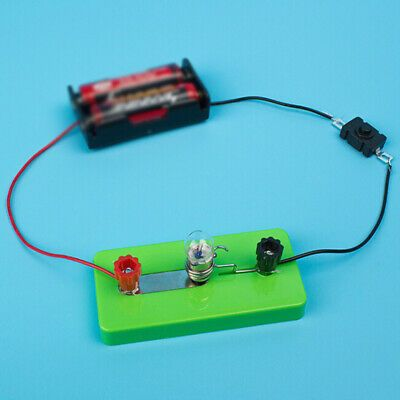 Ad Electric Circuit Kits Children Science Toys Diy Educational Learning Experiment In 2020 Science Toys Diy Educational Toys Electronic Kits