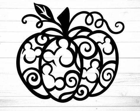 Disney Diy, Disney Crafts, Disney Font Free, Cricut Craft Room, Cricut Vinyl, Silhouette Cameo Projects, Silhouette Design, Disney Halloween, Fall Halloween
