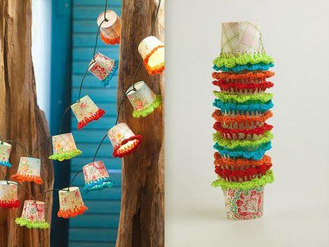 crafts paper cups