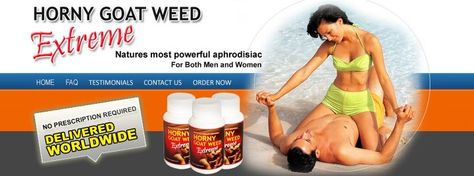 Sex Pills: Horny Goat Weed Extreme