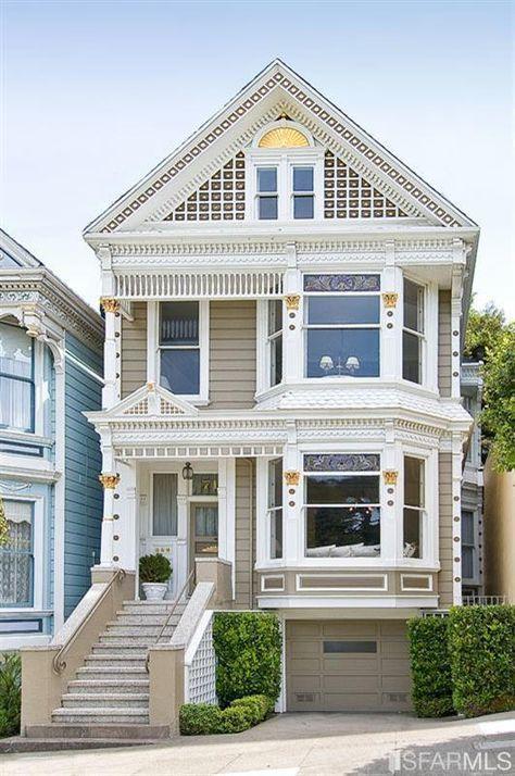 Super House Paint Exterior Victorian San Francisco Ideas