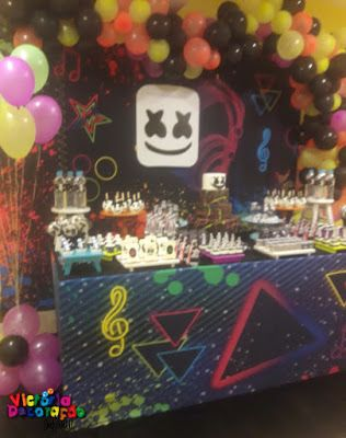 Dj Marshmello Arthur 7 Anos In 2020 Birthday Parties Birthday