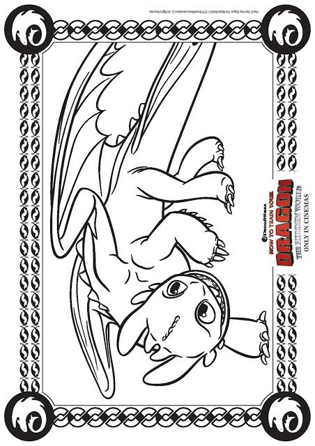 How To Train Your Dragon The Hidden World Activity Sheets How Train Your Dragon Dragon Coloring Page Coloring Pages