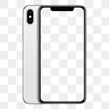 Download Maquete Do Iphone Xs Branco Iphone Phone Template Yellow Iphone
