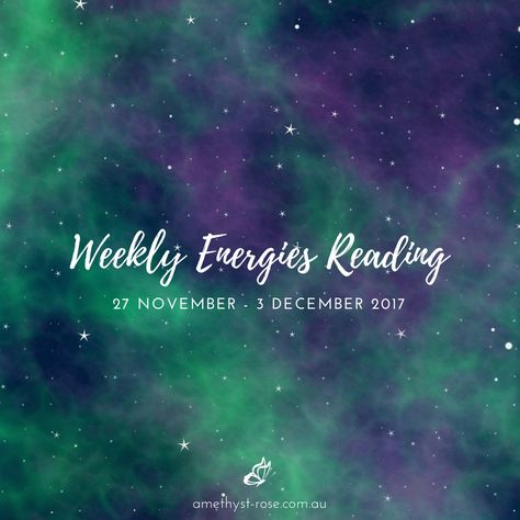 #WeeklyEnergies #WeeklyTarotReading for 27 Nov - 3 Dec 2017 There's an interesting energetic shift that takes place this week! We begin to see how we've been contributing to the chaos and confusion in and of our life. We begin to step away from the energy of... Click the image for the whole reading Vanda xx #HealingWithTheTarot #ReadingsWithVanda #EnergyReading #Tarot #TarotReadings