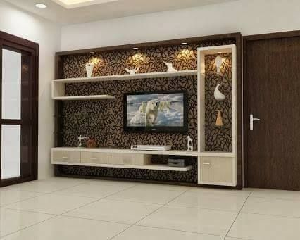 15 Living Area Storage Ideas That Reduce Mess Or Conceal It Wall Tv Unit Design Modern Tv Wall Units Tv Room Design
