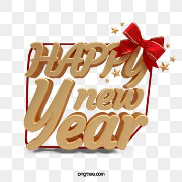 Happy New Year Gift Box Happy New Year Stars Bow Png Transparent Clipart Image And Psd File For Free Download In 2020 Happy New Year Gift Happy New Year Background Happy