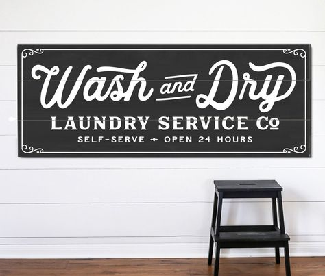 Wash And Dry Sign Laundry Room Signs Laundry Room Art Laundry Room