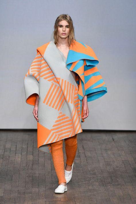 mandarine α allure style look mood mode fashion manteau mantel coat - Swedish School of Textiles, University of Borås