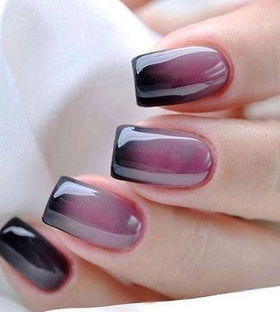 35 Amazing Ombre Nails That You Must Try Manicura De Uñas