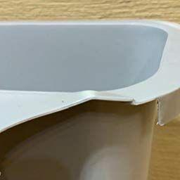 Amazon Wholehot キッチンゴミ箱 生ゴミ 蓋なし 10l ゴミ袋ホルダー付き つり下げゴミ箱キッチンキャビネット 食器棚ドアにかける ゴミ袋固定リング付き ダストボックス リビングルーム キッチン 洗面所用 大容量 ぶら下げゴミ箱 丈夫なプラスチック ホ ゴミ箱