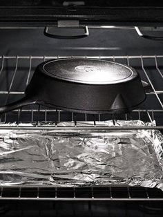How To Reseason A Cast Iron Skillet Cast Iron Cleaning Cast