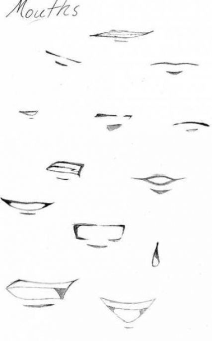 Mund Zeichnen In 2020 Mouth Drawing Anime Mouths Anime Mouth Drawing
