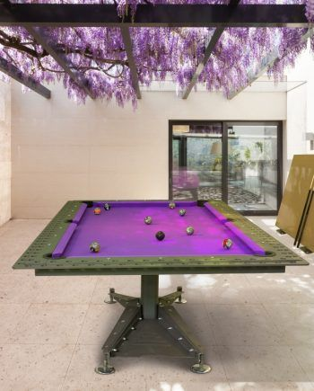 Industrial Pool Table In 2020 Outdoor Pool Table Pool Table