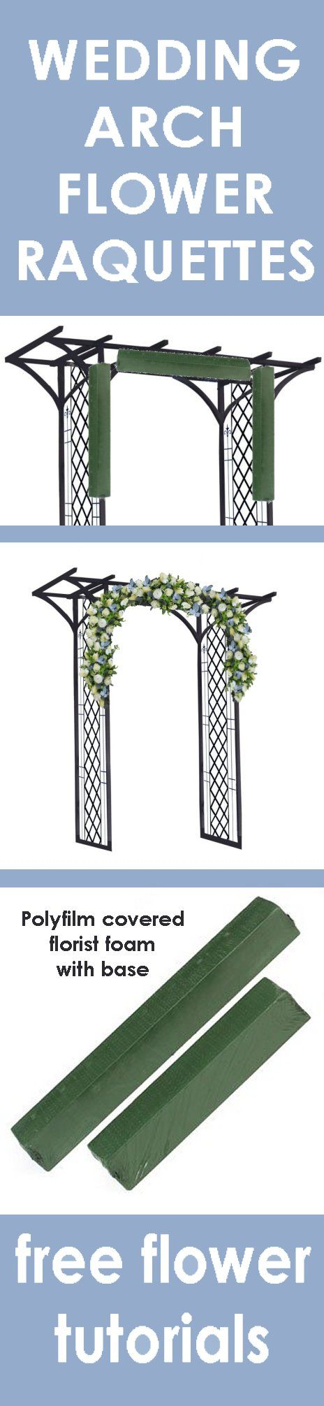 Wedding arch flowers foam cages for arch flowers event planning wedding arch flowers foam cages for arch flowers event planning decor pinterest arch flowers and wedding junglespirit Image collections