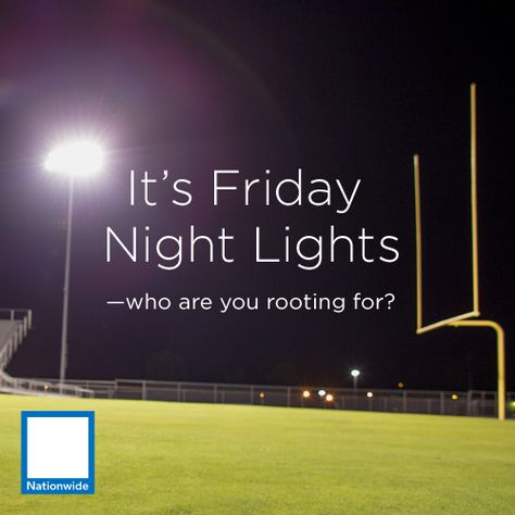 It's Friday Night Lights. Who are you rooting for?