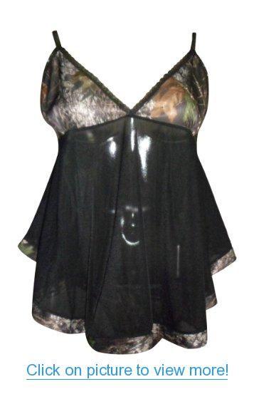 Mossy Oak Babydoll Wilderness Dreams Camo Lingerie Valentines Day Gift Set S-XL