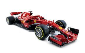 Download Wallpapers Ferrari Sf71h 2018 4k New Ferrari F1 Car