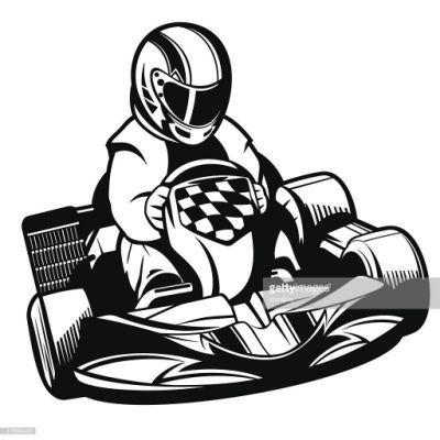 Clipart: go kart clip art | Go Kart — Stock Photo © lenmdp #4133059