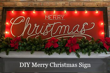 Sw Christmas Signs Christmas Mantel Decorations Merry Christmas Lighted Sign