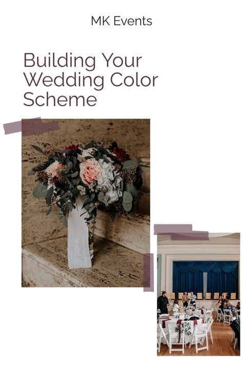 When designing your wedding, one of the best places to start is with your color scheme! From there, you can build your decor and attire to best incorporate your colors. Need some ideas where how to do that? Click the picture to read the full blog about great ways to make your colors shine through! #weddingplanning #weddingblog #weddingtips