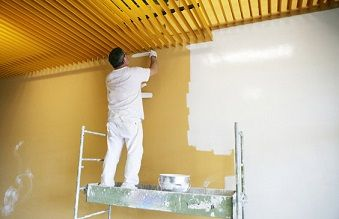 Choosing The Right Painting Contractor For Your Home Interior Painting Project Gives You The Best Va Painting Contractors Painting Services Building Renovation