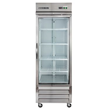 Maxx Cold X Series Single Glass Door Commercial Refrigerator Stainless Steel 23 Cu Ft Sam S Club Glass Front Refrigerator Commercial Refrigerators Glass Door
