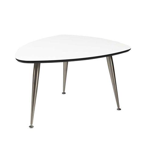 Mesa De Jardin De Aluminio Gris L 104 Cm Escale Table Garden
