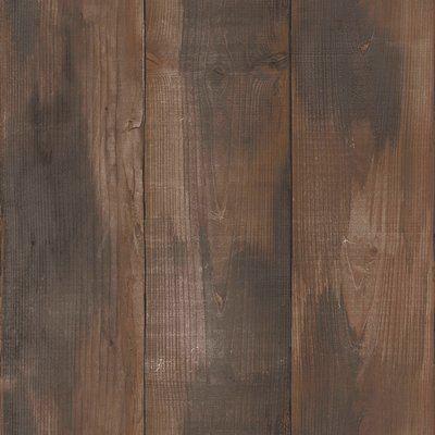 """Walls Republic Wood Stained 33' L x 20.8"""" W Wallpaper Roll"""
