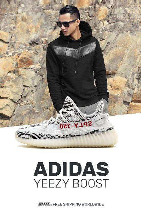 Womens size Adidas Yeezy Boost 350 V2 Zebra copy sneakers