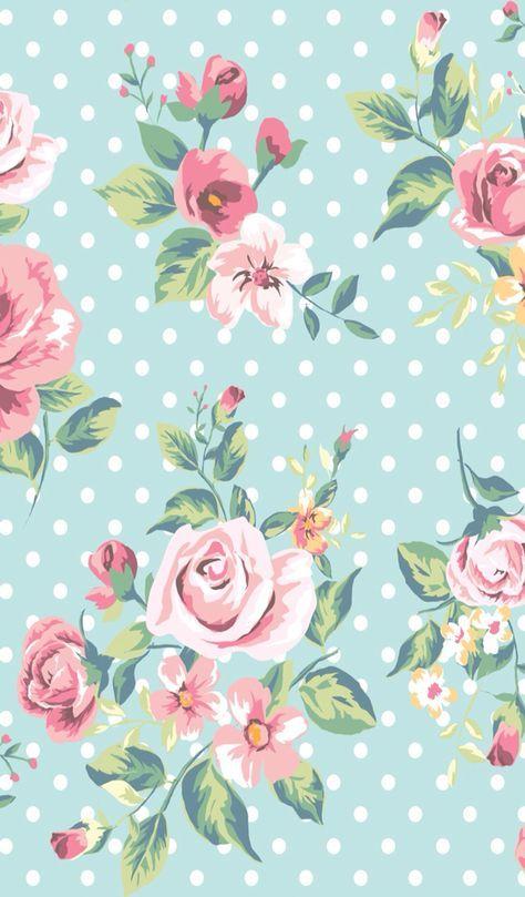 18 Ideas Vintage Flores Flowers Decoupage Flower Phone Wallpaper Flower Background Iphone Floral Wallpaper