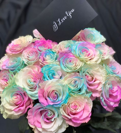 💘 I love you for who you are, I'd never want to change you. #Bloomluxury #pastelrainbow #iloveyou #foryou #neverchange