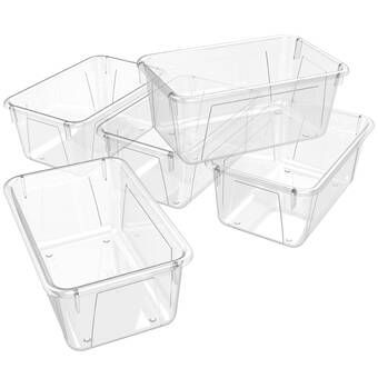 12 Compartment Cubby With Bins Cubby Bins Classroom Cubbies Clear Bins
