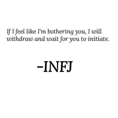 I have pretty much lost a friend because of this. But I got tired of always being the one to reach out. I don't want anyone to politely endure my friendship. Infj Mbti, Intj And Infj, Enfj, Infj Traits, Infj Personality, Myers Briggs Personality Types, Infj Humor, Thing 1, Myers Briggs Infj