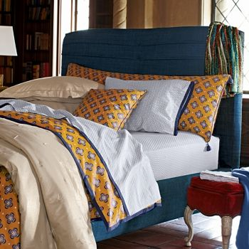 Serena Lily Madeira French Ring Standard Pillowcase Pillow Cases Serena Lily Linen Duvet Covers