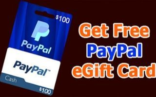 Get A Paypal Egift Card Giveaway In 2021 Paypal Gift Card Amazon Gift Card Free Egift Card