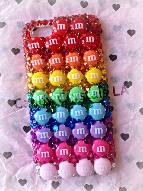 Cell Phone Cases - Rainbow MM iPhone case - Welcome to the Cell Phone Cases Store, where you'll find great prices on a wide range of different cases for your cell phone (IPhone - Samsung) Coque Iphone 5s, Iphone 5 Case, Cool Iphone Cases, Cool Cases, Diy Phone Case, Cute Phone Cases, Cellphone Case, Ipod Touch Cases, Funny Phone