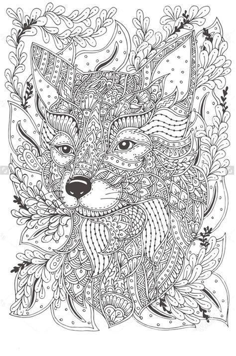 Pin By Nichol Johnson On Coloring Pages Fox Coloring Page Animal Coloring Pages Pattern Coloring Pages