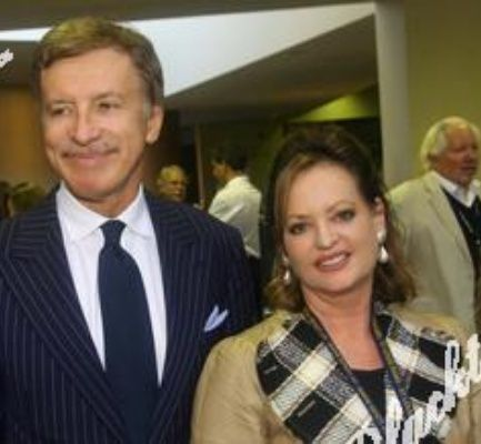 Stan Kroenke with clever, Wife Ann Walton
