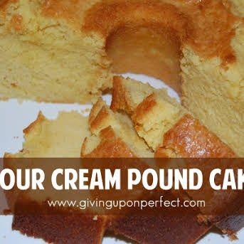 Granny S Famous Pound Cake With Sugar Butter Eggs Flour Salt Baking Soda Vanilla Butter Sour Cream In 2020 Sour Cream Pound Cake Pound Cake Recipes Recipes