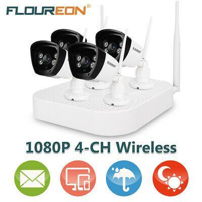 Ad Ebay Link Floureon 4ch 1080p Hdmi Dvr 1500tvl Outdoor Cctv Home Securi In 2020 Wireless Security Camera System Security Cameras For Home Wireless Security System