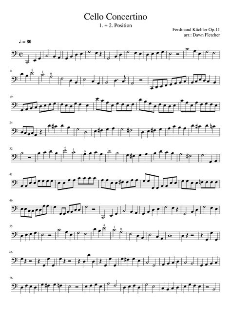 Etudes for Cello, 123 Etudes (Book II) sheet music for cello