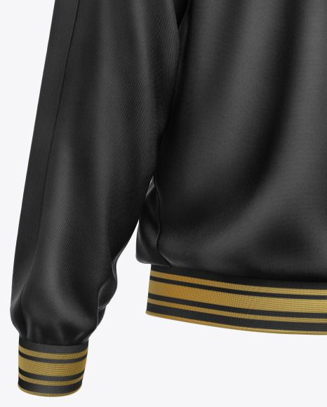 Download Men S Zipped Bomber Jacket Mockup In Apparel Mockups On Yellow Images Object Mockups Clothing Mockup Bomber Jacket Long Sleeve Outerwear