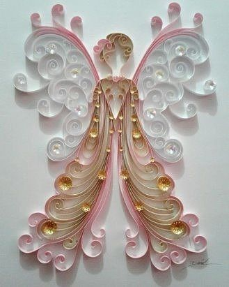Cool Craft Ideas - Quilling - My site Neli Quilling, Paper Quilling Cards, Paper Quilling Tutorial, Paper Quilling Patterns, Origami And Quilling, Quilled Paper Art, Quilling Craft, Quilling Flowers, Paper Flowers