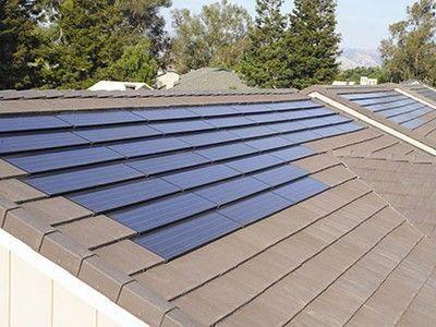 Building Integrated Solar Power Tiles Now Available With Sunrun Solar As Service Program Architettura Pannelli Solari Design